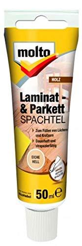 Molto LAMINAT+PARKETTSPACHTEL EICHE HELL 50ml Fertigspachtel Spachtelmasse