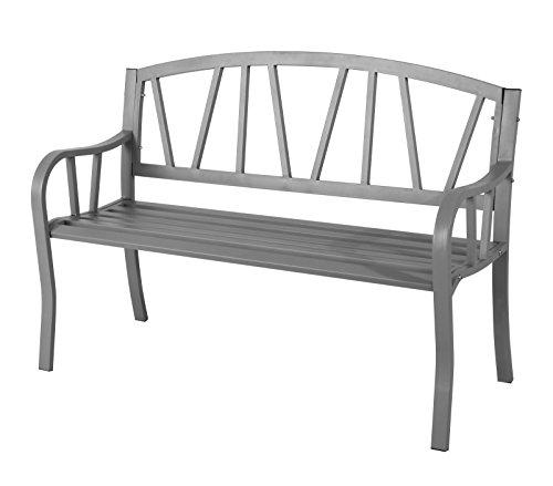 3-Sitzer, Garten, Terrasse, Bank, Stahl, wetterfest