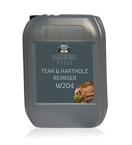 Holzreiniger Teak Hartholz W204 Holzschutz Vorreiniger Hartholzreiniger Möbelpflege Holzpflege 5L