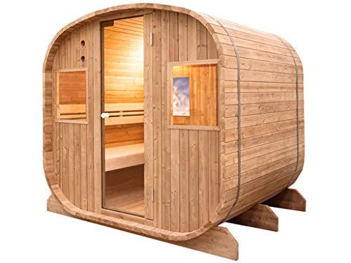 HOLLS Sauna Traditional Barrel Poolstar HL-ED1020