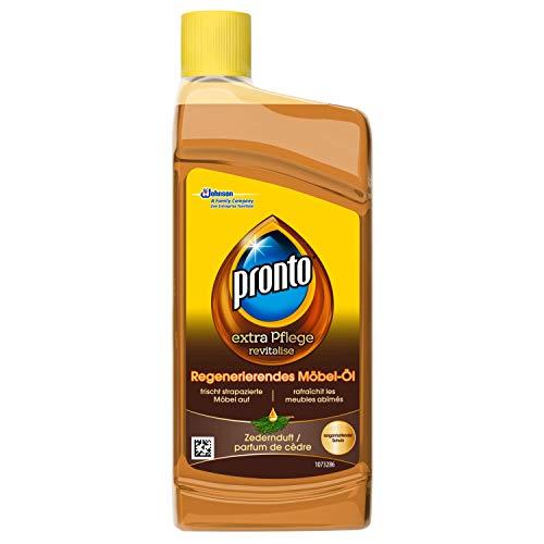 Pronto Möbelpflege-Öl, Für Wohn- und Gartenmöbel, Mit Zedernduft (1 x 250 ml)