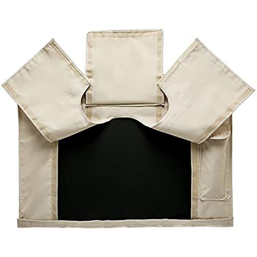 Abdeckung für Gartenmöbel TV-Außenabdeckung for 22'- 65' TV-Wandhalterungen, universell wetterfest for die meisten TV-Halterungen und Ständer - Beige (Size : 50-52)
