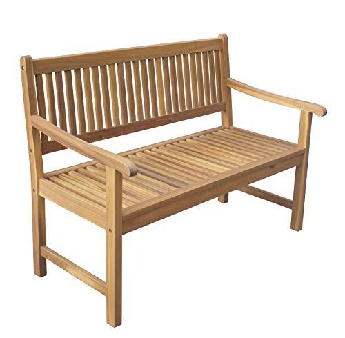 Chillroi Kingsbury Gartenbank aus Akazienholz, Holz