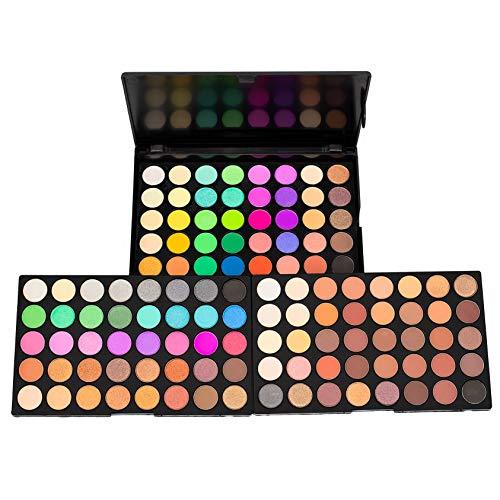 120 Colors Studio Lidschatten Palette Makeup Palette, Perfekt Untereinander Kombinierbare Farbnuancen, Matt, Leuchtende und Schimmernde Texturen, Für Verführerische Augen